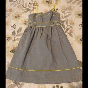 ModCloth London Times Stripe Baby Doll Dress